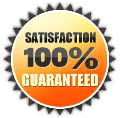100% Satisfaction Guaranteed on all plumbing services